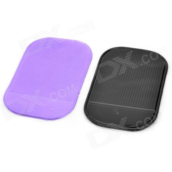 Buy Magic Compact Anti-slip Mat Car Dashboard Pair - Black + Purple with Litecoins with Free Shipping on Gipsybee.com