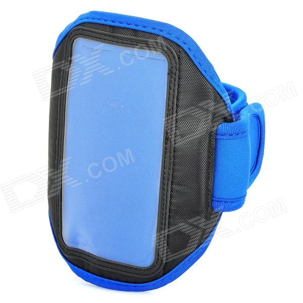 Sports Gym Arm Band Case + Screen Protector Set for HTC ONE X S720E / HTC ONE S Z520E - BlueArmbands<br>ModelsHTCMaterialNylonForm  ColorBlueQuantity1Compatible ModelsHTCPacking List<br>