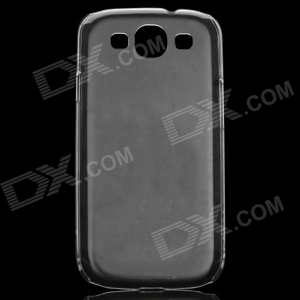 Protective ABS Case for Samsung Galaxy S3 i9300 - Transparent for sale in Bitcoin, Litecoin, Ethereum, Bitcoin Cash with the best price and Free Shipping on Gipsybee.com