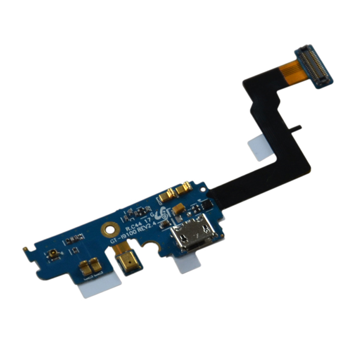 Buy USB Charging Connector Port Flex for Samsung i9100 - Black + Blue with Litecoins with Free Shipping on Gipsybee.com