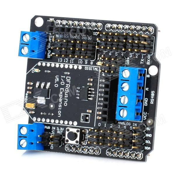 IO Expansion Shield V5 Xbee Sensor Shield RS485 For Arduino (Works with Official Arduino Boards)