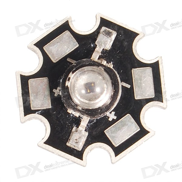1W 850nm IR LED Emitter on Star (1.71.8V 700mA)