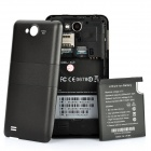 "X2 Android 4.0 WCDMA Bar Phone w/ 4.0"" Capacitive, GPS, Wi-Fi and Dual-SIM - Grey"