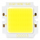 DIY 10W 1050LM Cold White Light COB Module à plaque carrée LED (DC15 ~ 17V)