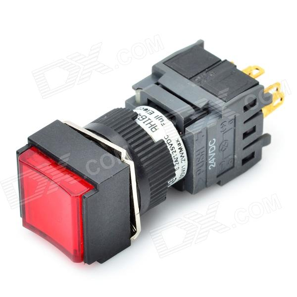 DIY 6-Pin Push Button Switch with LED Red Light - Free Shipping ...