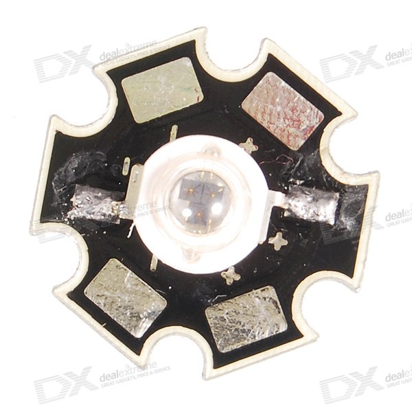 3W Infrared LED 850nm IR Emitter on 2cm Star (1.5V1.7V DC)