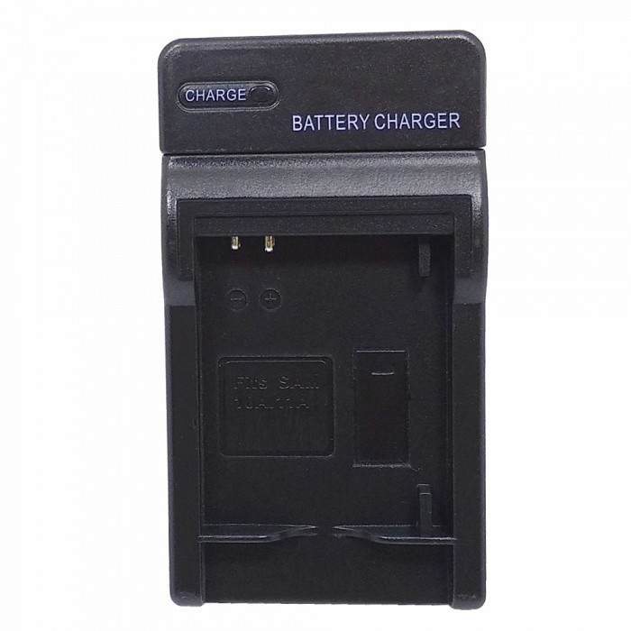 Digital Battery Charger for Samsung SLB-10A/11A - Black