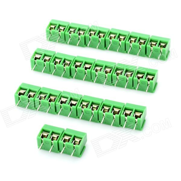 2 pin cable wire terminal connectors green 20 piece pack 5 0mm rh dx com electrical terminal connectors home depot electrical terminal connectors home depot