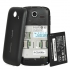 "Lenovo A750 Android 2.3 WCDMA Cellphone w/ 4.0"" Capacitive, GPS, Wi-Fi and Dual-SIM - Black"