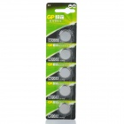 GP CR2032 3V Lithium Cell Button Battery (5PCS)