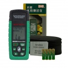 "3-in-1 1.8"" LCD Digital Wood Timber Moisture Meter Tester - Green (2 x AAA)"