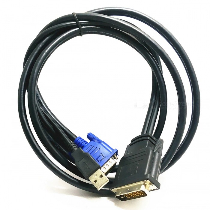 "M1 Connection DVI/VGA/USB ""EVC"" Cable for InFocus Projectors - Black"