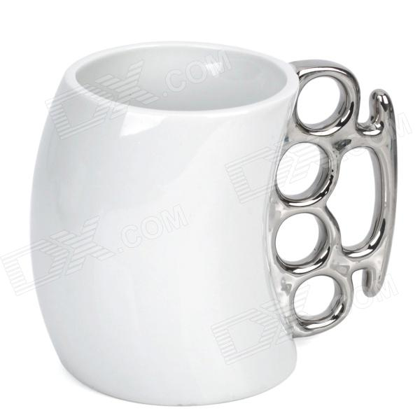 Buy Unique Ceramic Fist Cup Mug (201~300ml) with Litecoins with Free Shipping on Gipsybee.com