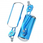 Aluminum-Alloy-Motorcycle-Anti-Glare-Rearview-Mirrors-Blue-(2-Piece)