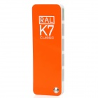 RAL-K7-Paint-Color-Page-Chip-Card-Brochure