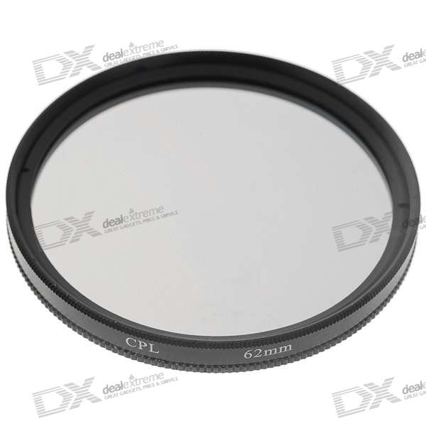 CPL Polfilter Objektiv-Filter (62mm)