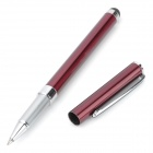 Aluminum Alloy 2-in-1 Ballpoint Pen + Capacitive Stylus for Samsung i9300 / Cellphone - Deep Red