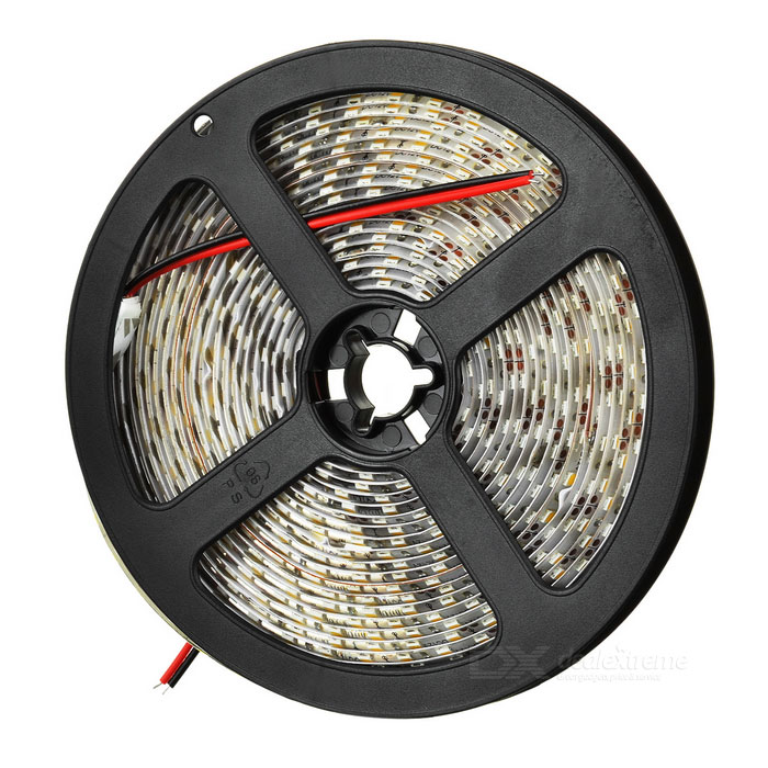 36W Warm White 600*3528 SMD LED Decoration Light Strip (5m / 12V)3528 SMD Strips<br>Form  ColorWhiteQuantity1Power6WEmitter Type3528 SMD LEDTotal Emitters600Color BINWarm WhiteColor Temperature3000~3500KConnectorOther FeaturesIPPacking List<br>