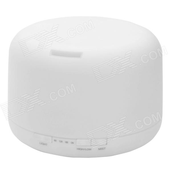 Ultrasonic-Aroma-Diffuser-Humidifier-w-12-LED-White-(500ml)