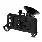 Car Swivel Suction Cup Mount Holder for Samsung i9300 Galaxy S3 -Black