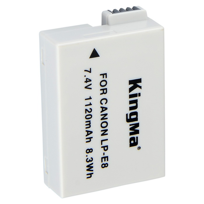 Kingma Replacement 1120mAh 7.4V Li-ion Battery for Canon EOS / 650D / 600D