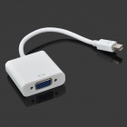 Thunderbolt to VGA Female Video Adapter Cable - White (15cm)