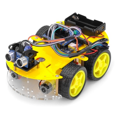 Bluetooth Controlled Robot Car Kits for Arduino