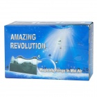 Amazing magnético Floating Revolution Stick Juguete - Negro + Blanco