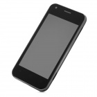 "M2 Android 4.0 WCDMA Bar Phone w/ 4.0"" Capacitive Screen, GPS, Wi-Fi and Single-SIM - Black (8GB TF)"