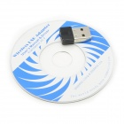 K11 Mini IEEE 802.11 b/g/n 150Mbps Wi-Fi USB 2.0 Dongle - Black