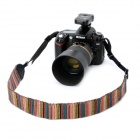 Colorful Knitting Cotton Yarn Neck / Shoulder Sling Strap for DSLR (56cm)