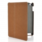 Stylish-Protective-PU-Leather-Case-Stylus-Pen-for-Ipad-2-The-New-Ipad-Brown