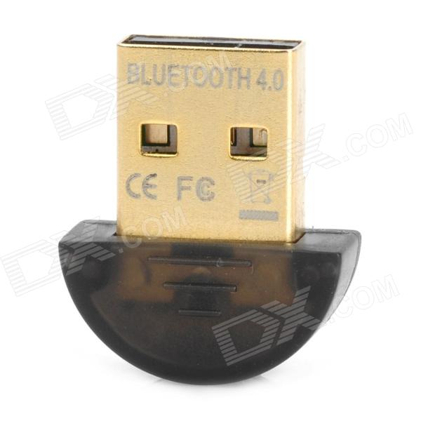 Buy Plastic USB 2.0 Bluetooth V4.0 Adapter - Black with Litecoins with Free Shipping on Gipsybee.com