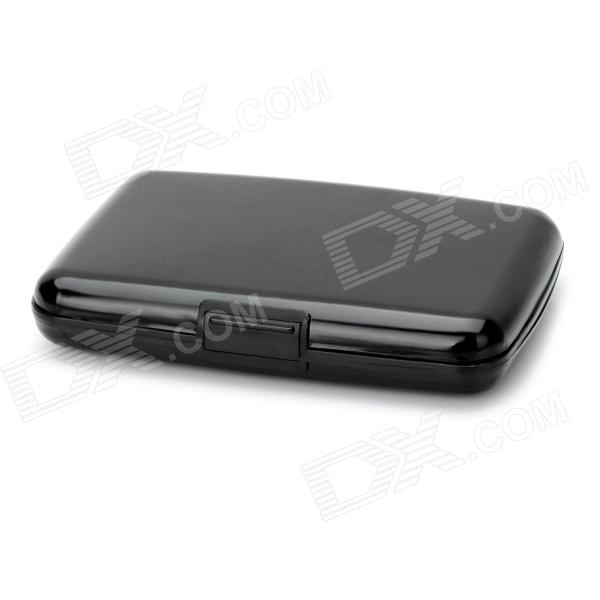 Buy Water Resistant Credit Card Holder Case w/ 7 Slots - Black (Size S) with Litecoins with Free Shipping on Gipsybee.com