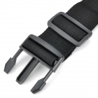 Kofferband Strap w / Quick Release Buckle / ID-Tag - Schwarz (2 m)