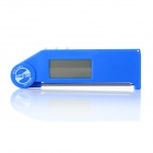 "PT-06 2.2"" LCD Digital Thermometer w/ Stainless Steel Sensor Probe - Blue (1 x AAA)"
