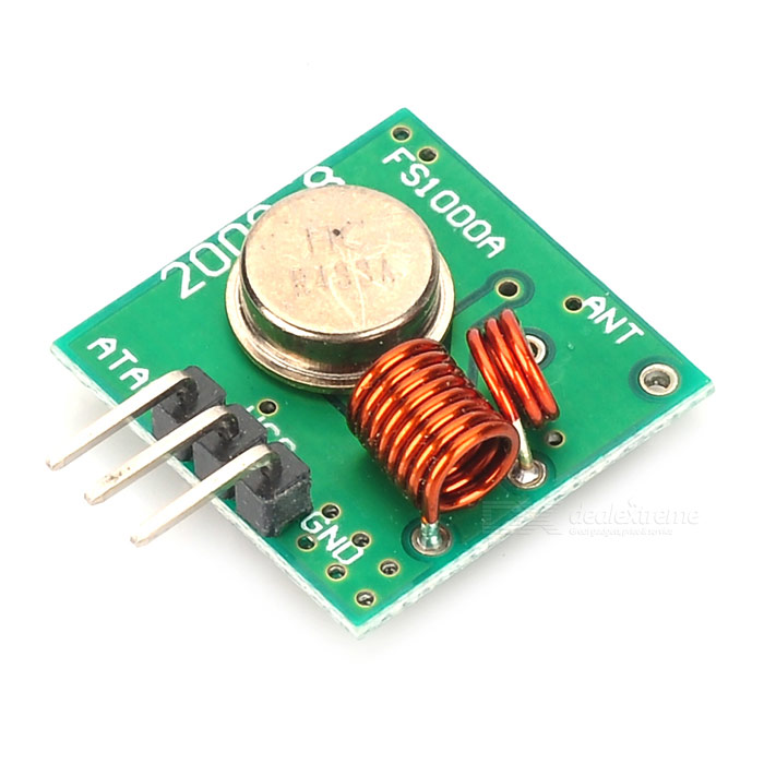 433MHz Wireless Transmitter Module Superregeneration for Arduino
