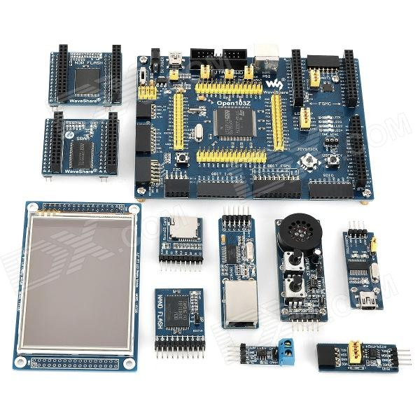 Open103Z-Package-A-STM32-Microcontroller-Development-Board-Kit-Blue