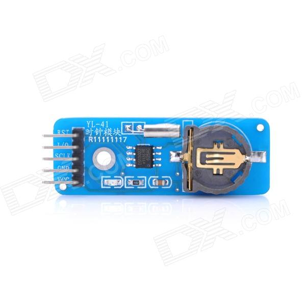 DS1302 Real Time Clock Module (2.0~5.5V)Boards &amp; Shields<br>Form  ColorBlueMaterial:Packing List<br>