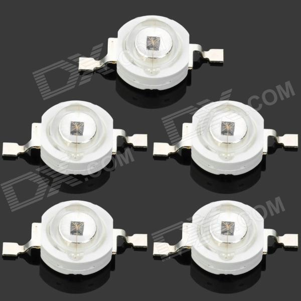 JR-1W-940NM 1W 940nm Infrared Light LED Lamp Bead (5 PCS)