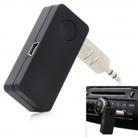 Bluetooth 4.2 Car Kit Hands free Audio Receiver Adapter Auto AUX Kit