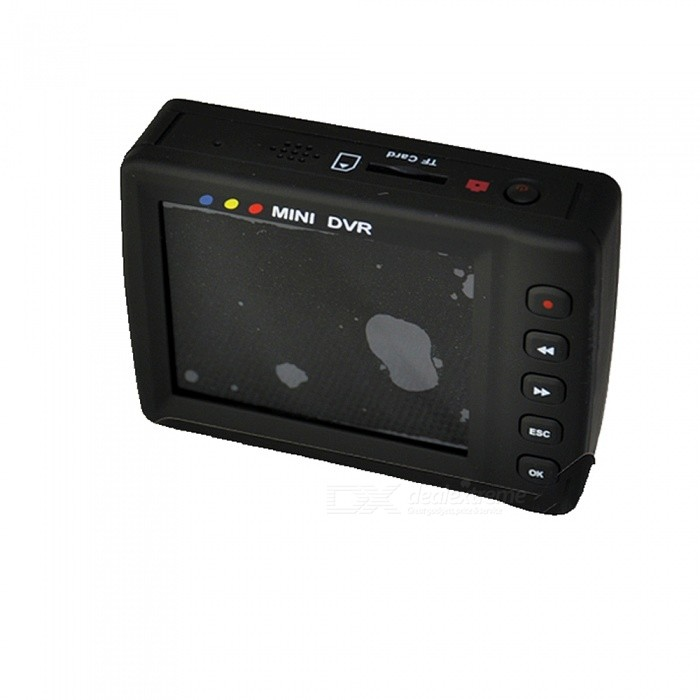 "Rechargeable Motion Activated Pinhole Camera with 2"" LCD MiniSD DVR (100~240V AC)"