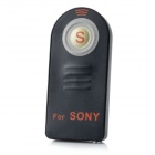 Wireless IR Remote Control for Sony NEX5 / A900 / A700 + More - Black (1 x CR2025L)