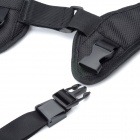 Shooting Camera Double Shoulder Strap Belt for SLRs - Black