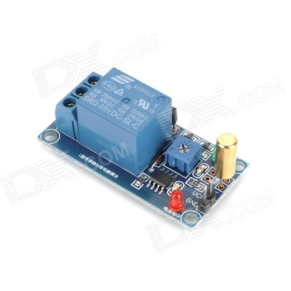 1-Channel Angle Sensor + Relay Module for Arduino (Works with Official Arduino Boards)