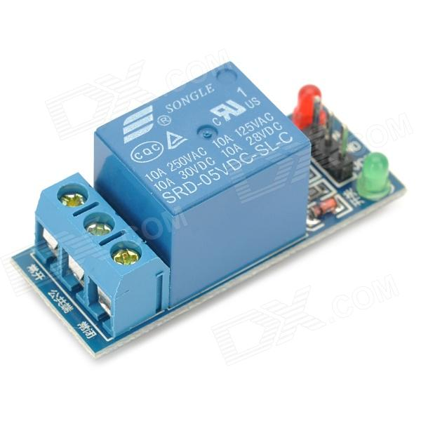 Buy 1 Channel 5V High Level Trigger Relay Module for Arduino (Works with Official Arduino Boards) with Litecoins with Free Shipping on Gipsybee.com
