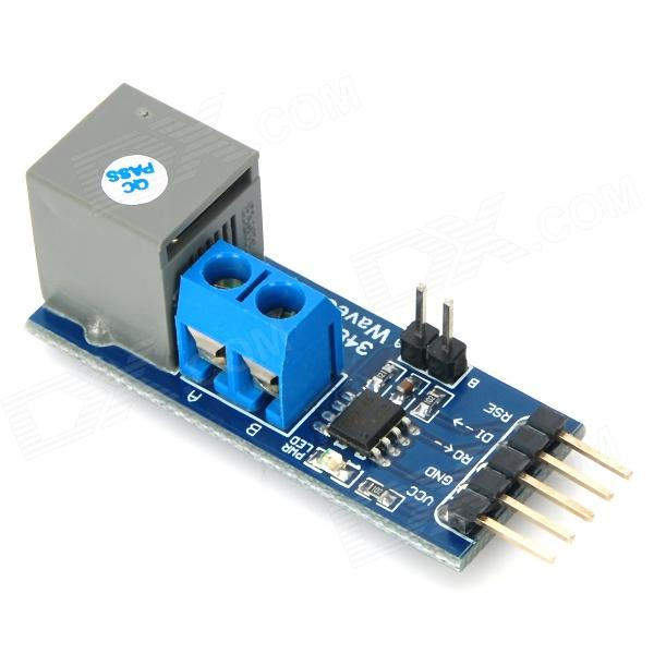 5V RS485 Board Transceiver Module - Blå