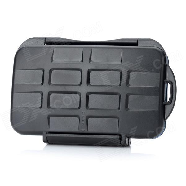 Buy JJC MC Series Waterproof Digital Camera Memory Card Case - Black with Litecoins with Free Shipping on Gipsybee.com