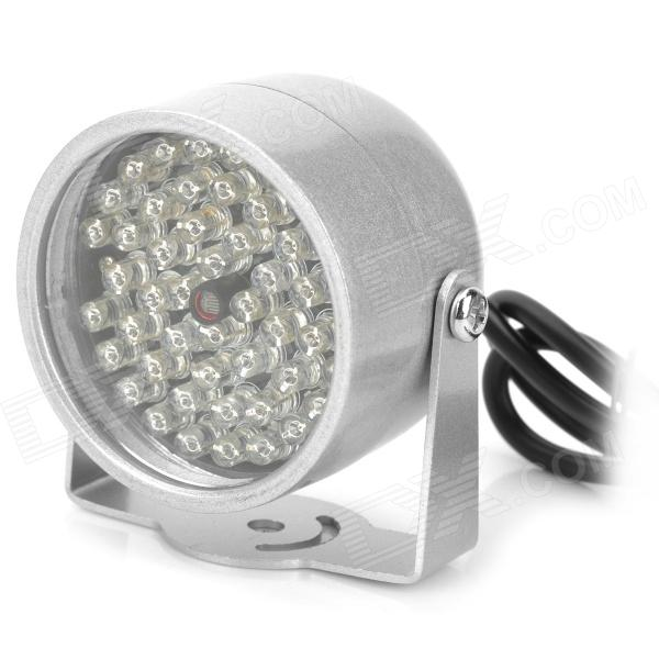 IR 48-LED InfraRed Illumination Light for Night Vision - Silver