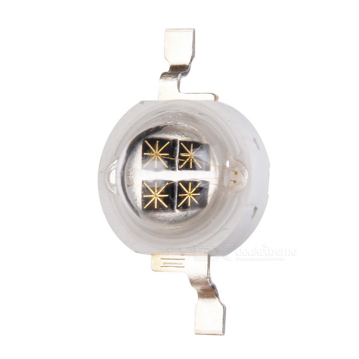 Buy 5W 940nm Infrared IR LED Lamp Bead (1.5~1.8V) with Litecoins with Free Shipping on Gipsybee.com